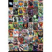 DC Comics Montage - 24 x 36 Inches Maxi Poster