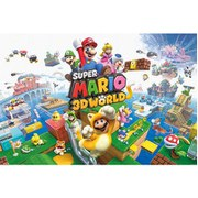Nintendo Super Mario 3D World - 24 x 36 Inches Maxi Poster