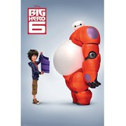 Disney Big Hero 6 Teaser - 24 x 36 Inches Maxi Poster