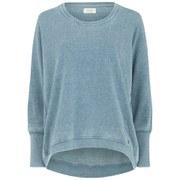 nümph Womens New Nikola Sweatshirt - Ink Blue