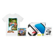 Nintendo 3DS XL Blue/Black Sonic Boom Pack + T-Shirt