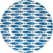 "Sieni Fishie on a Dishie Melamine 10"" Plate"