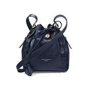 Aspinal of London Women's Padlock Mini Duffle Bag - Navy