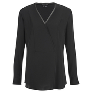 Theory Women's Ramalla Blouse - Black