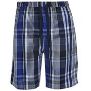 GANT Men's Checked Pyjama Shorts - Navy