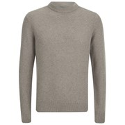 Paul Smith Jeans Men's Wool Rib-Knit Jumper - Stone