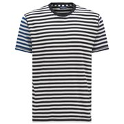 Paul Smith Jeans Men's Contrast Sleeve T-Shirt - Navy