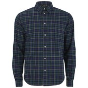 Paul Smith Jeans Men's Check Flannel Shirt - Navy