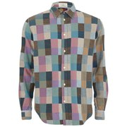 Paul Smith Red Ear Men's Japanese Flannel Shirt - Multi Check