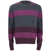 Paul Smith Jeans Men's Mohair Sweater - Multi Stripe