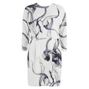 Y.A.S Women's Smokey Print Dress - Gardenia