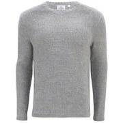 Cheap Monday Men's Cell Knitted Jumper - Grey Melange