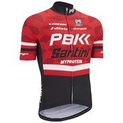 PBK Santini Replica Team Short Sleeve Jersey - Red/White/Black