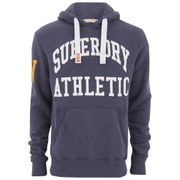 Superdry Men's Xl Athletic Hoody - Princeton Blue