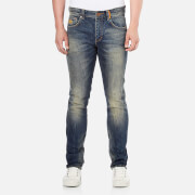 Superdry Men's Corporal Slim Denim Denim Jeans - Tribeca Blue