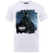 DC Comics Batman Arkham Knight Poster Men's T-Shirt - White