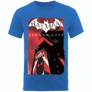 DC Comics Batman Arkham City Men's T-Shirt - Royal Blue