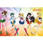 Sailor Moon Rainbow - 24 x 36 Inches Maxi Poster
