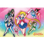 Sailor Moon Burst - 24 x 36 Inches Maxi Poster