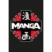 Manga Logo - 24 x 36 Inches Maxi Poster