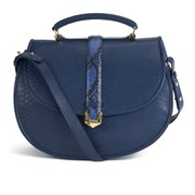 Matthew Williamson Women's Oversized Satchel Bag - Navy