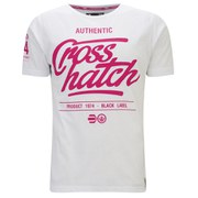 Crosshatch Men's Squirm T-Shirt - Optic White