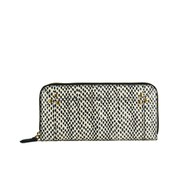 Jerome Dreyfuss Women's Malcom Purse - Point Noir Elaphe