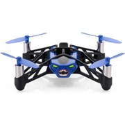 Parrot Minidrone Rolling Spider (Inc Mini Camera and Removable Wheels) - Blue