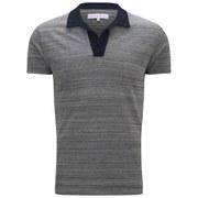 Orlebar Brown Men's Felix Pique T-Shirt - Navy