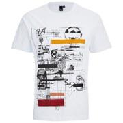 McQ Alexander McQueen Men's Dropped Shoulder T-Shirt - Optic White