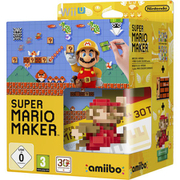 Super Mario Maker + Mario Classic Colours amiibo