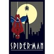 Marvel Deco Spider-Man Hanging - 24 x 36 Inches Maxi Poster