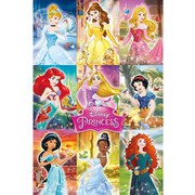 Disney Princess Collage - 24 x 36 Inches Maxi Poster