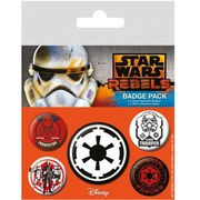 Star Wars Rebels Villains - Badge Pack