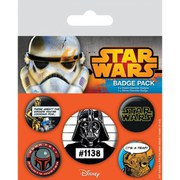 Star Wars Cult - Badge Pack