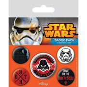 Star Wars Dark Side - Badge Pack