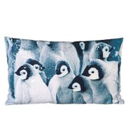 Parlane Penguins Cushion - White