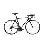 Forme Thorpe Comp Elite Carbon Road Bike - Campag Chorus - Black/White/Green