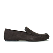 HUGO Men's C-Home Leather Slippers - Dark Grey