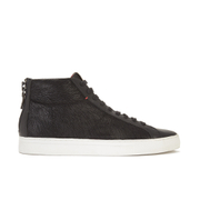 HUGO Men's Futmid Hi-Top Trainers - Black