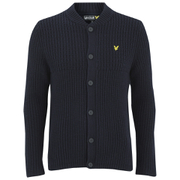 Lyle & Scott Vintage Men's Grid Stitch Cardigan - Navy