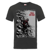 Marvel Men's Ant Man Army T-Shirt - Charcoal