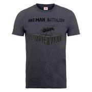 Marvel Men's Ant Man Batallion T-Shirt - Dark Heather
