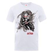 Marvel Men's Ant Man Running T-Shirt - White