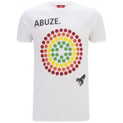 Abuze London Men's Colour Wheel Back Print T-Shirt - White
