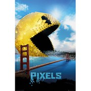 Pixels Pacman - 24 x 36 Inches Maxi Poster