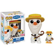 Disney Frozen Barber Olaf With Seagull SDCC Exclusive Funko Pop! Figuur