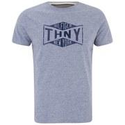 Tommy Hilfiger Men's Printed Short Sleeve T-Shirt - Blue