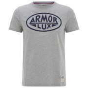 Armor Lux Men's Printed T-Shirt - Grey