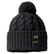 Jack Wolfskin Men's Stormlock Pompom Hat - Black